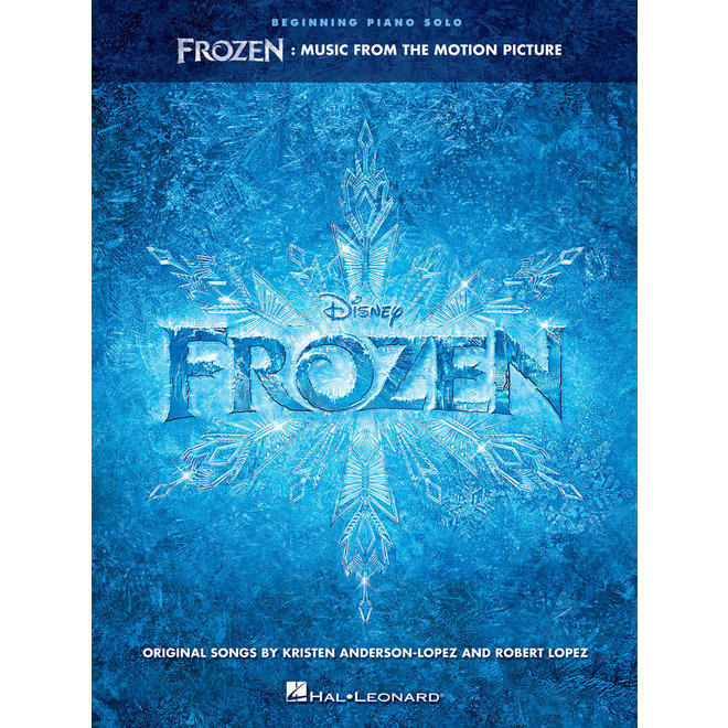Hal Leonard - Frozen, Beginning Piano Solo