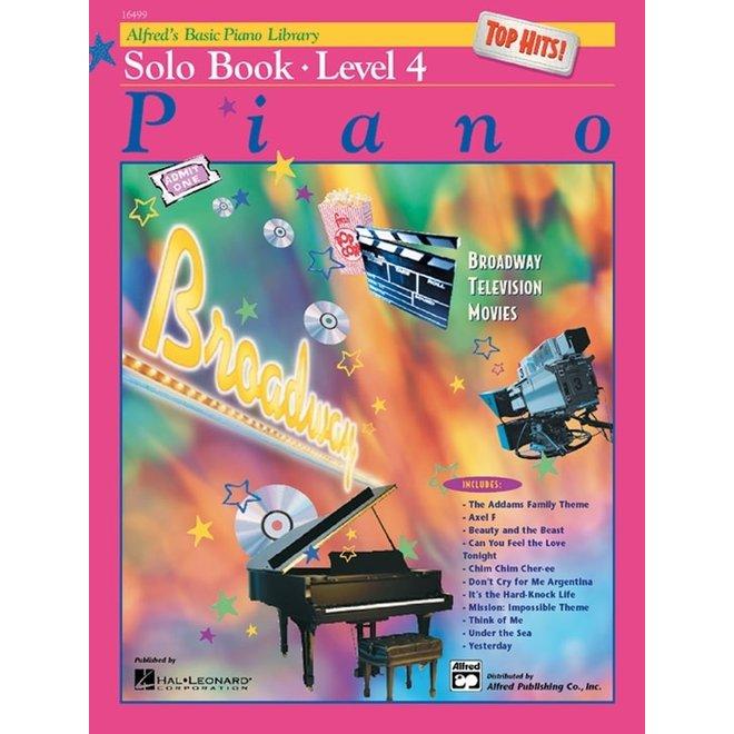 Alfred's - Basic Piano Course: Solo Book 4