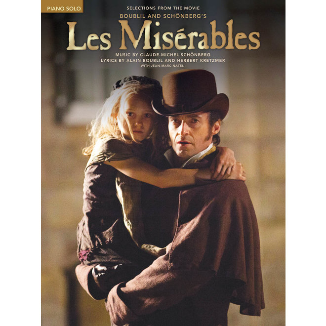 Hal Leonard - Les Miserables, Selections From The Movie, Piano Solos