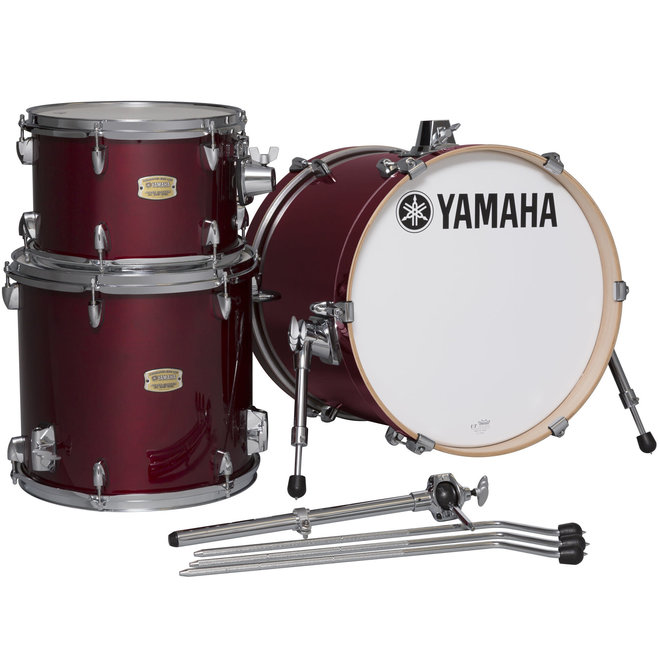 Yamaha - Stage Custom Bop (12,14, 18bd), Cranberry Red, Shell Pack