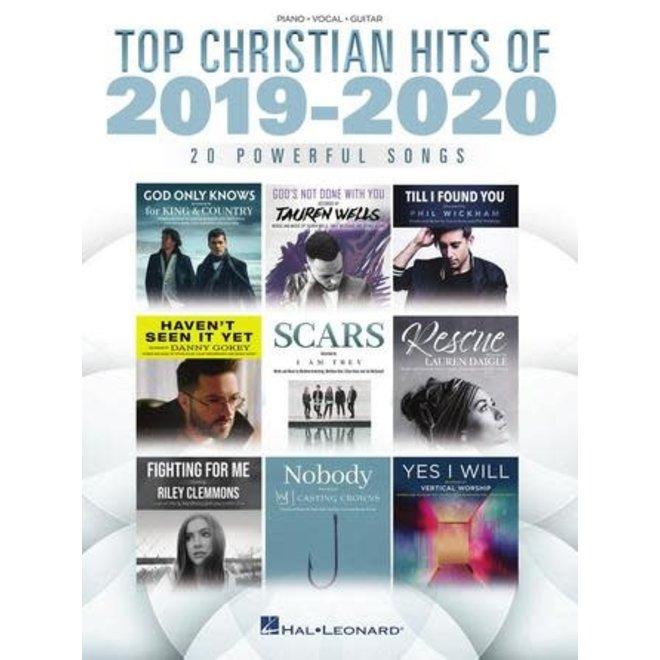Hal Leonard - Top Christian Hits of 2019-2020 (P/V/G)