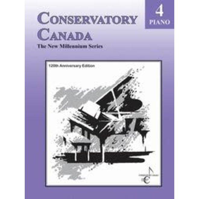 Conservatory Canada - Piano, Grade 4, The New Millenium Series (120th Anniversary Edition)