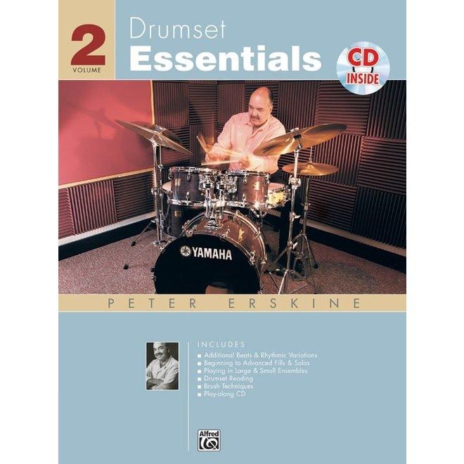 Drumset Essentials - Book 2 w/CD
