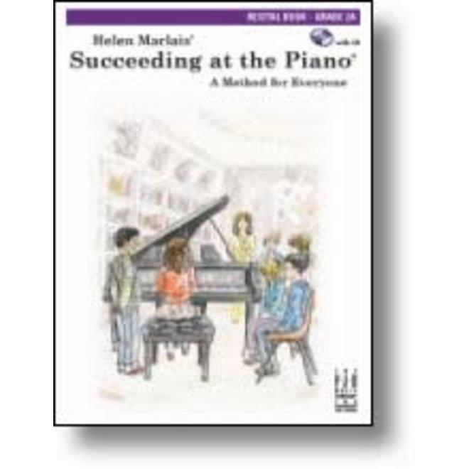 FJH - Helen Marlais' Succeeding at the Piano, Grade 2A, Recital Book w/CD (1st Edition)