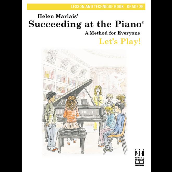FJH - Helen Marlais' Succeeding at the Piano, Grade 2B, Lesson & Technique Book w/CD (1st Edition)