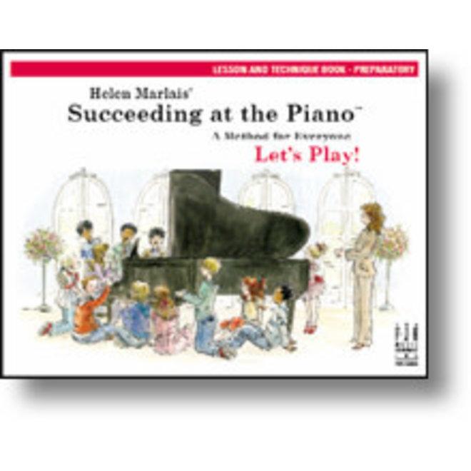 FJH - Helen Marlais' Succeeding at the Piano, Preparatory, Lesson & Technique Book w/CD (1st Edition)