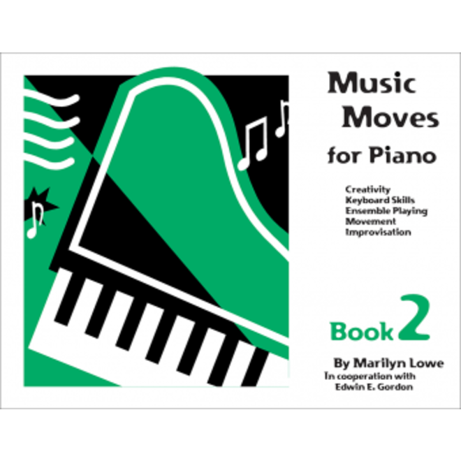 Gia Publications - Music Moves for Piano Book 2, Student Edition