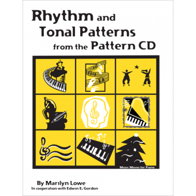 Gia Publications - Music Moves for Piano Rhythm & Tonal Patterns from the Patterns CD