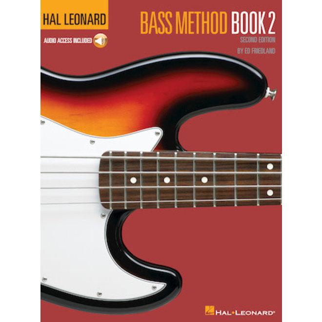 Hal Leonard - Bass Method, Book 2, w/ online audio