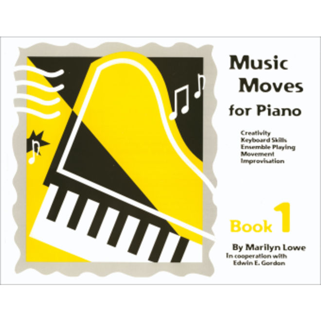 Gia Publications - Music Moves for Piano Book 1, Student Edition