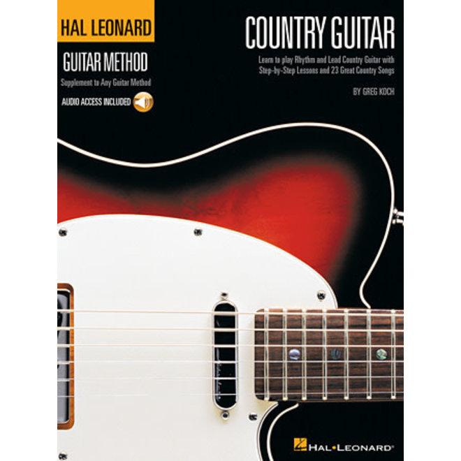 Hal Leonard - Guitar Method, Country Guitar, w/Online Audio Access