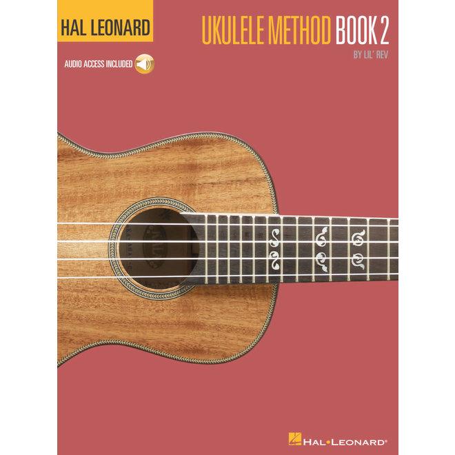 Hal Leonard - Hal Leonard Ukulele Method Book 2 w/CD