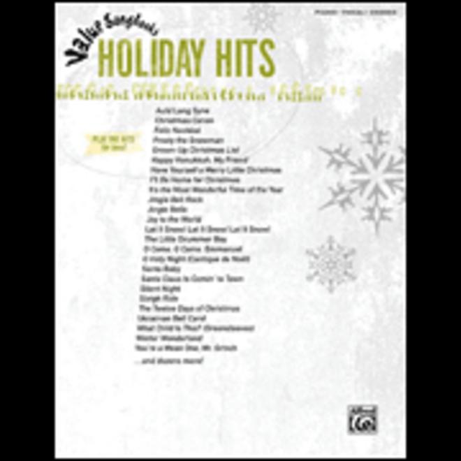 Hal Leonard - Value Songbooks: Holiday Hits