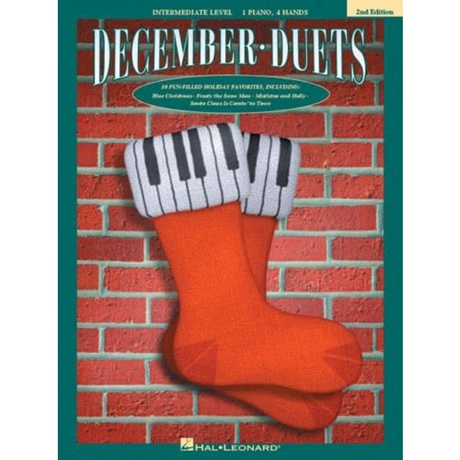 Hal Leonard - December Duets, Intermediate