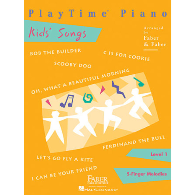 Hal Leonard - Faber PlayTime Piano, Level 1, Kids' Songs