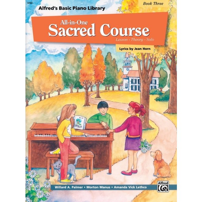 Alfred's - Basic All-in-One Sacred Course for Children, Book 4