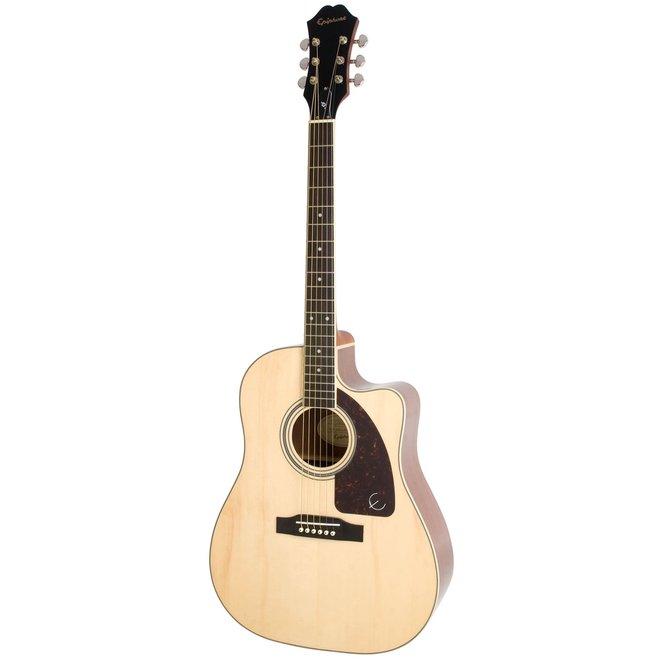Epiphone - J-220SCE Studio Acoustic/Electric, Natural