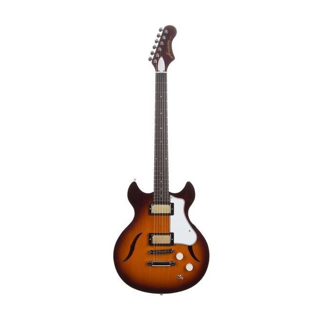 Harmony - Comet Electric Guitar, Sunburst w/ Deluxe Mono Case