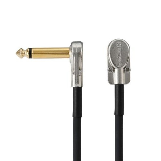 """Boss - Patch Cable with Pancake Jacks, 8"""""""