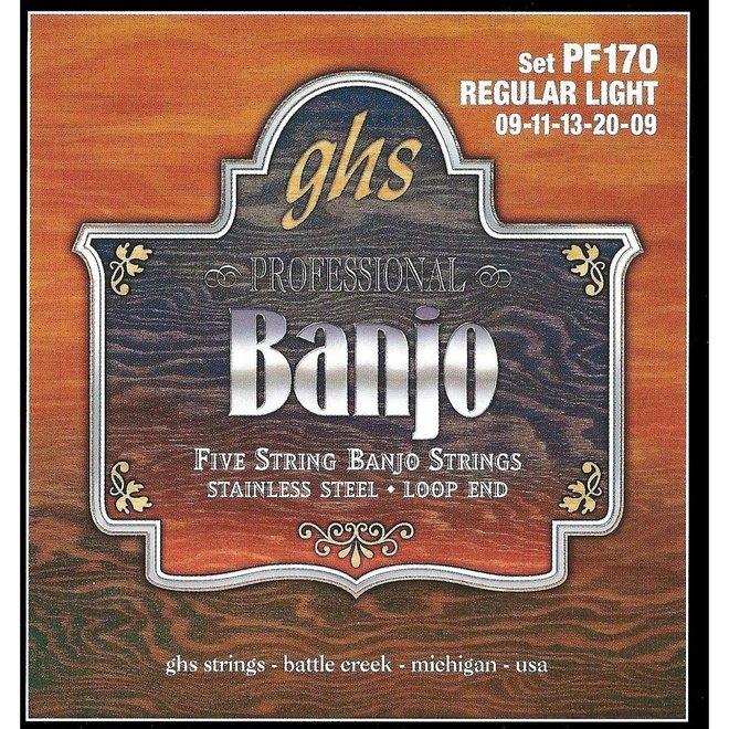 GHS - 5 String Banjo Strings, Light