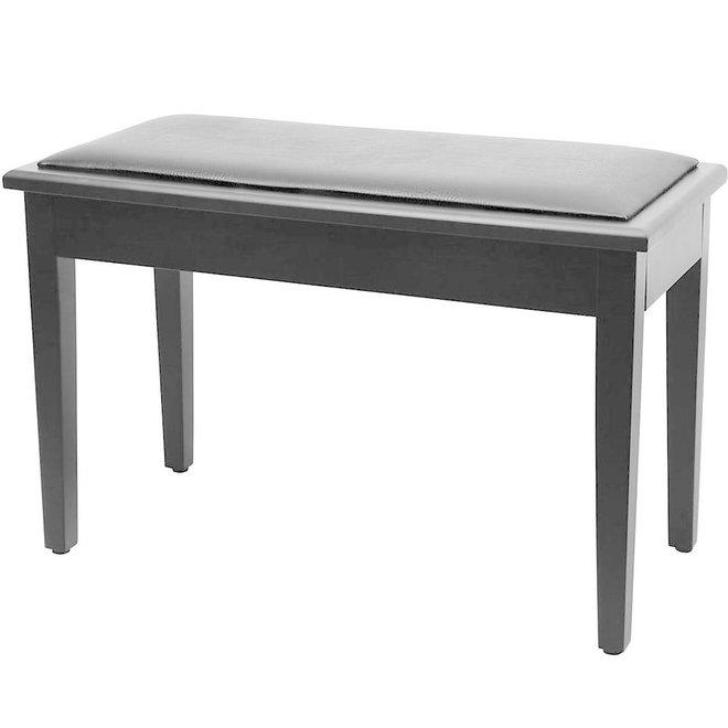 Roland - Duet Piano Bench, Satin Black, w/storage compartment (DEMO)