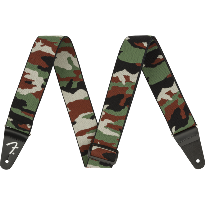 """Fender - 2"""" WeighLess Tweed Strap, Camo"""