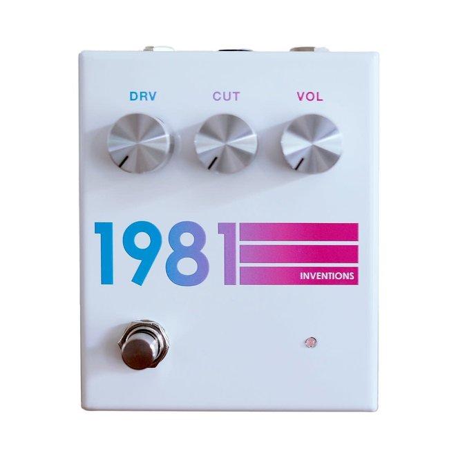 1981 Inventions - DRV Overdrive, Hyperfade White