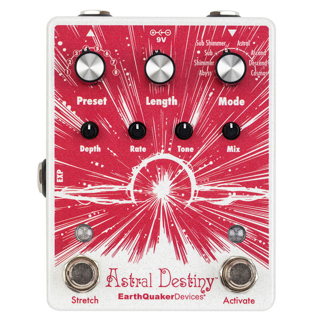 Earthquaker Devices - Astral Destiny Octal Octave Reverberation Odyssey