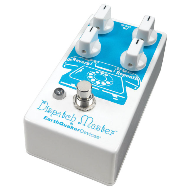 EarthQuaker Devices - Dispatch Master v3 Digital Delay & Reverb with Flexi-Switch