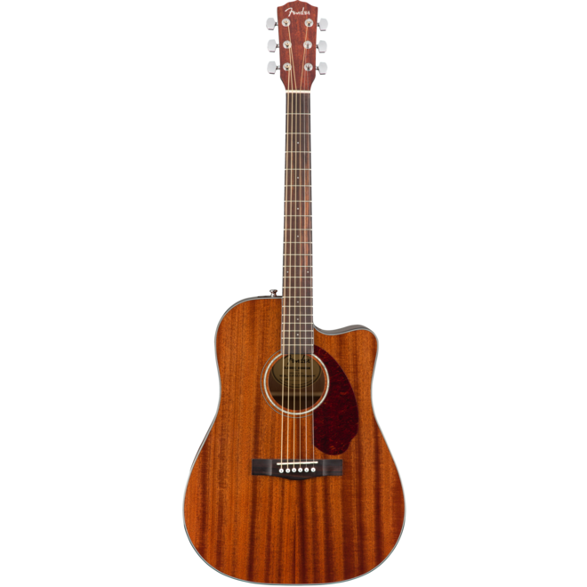 Fender - CD140SCE Dreadnought Cutaway Acoustic w/solid top, All Mahogany (w/Hardshell Case)