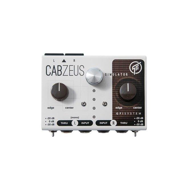 GFI System - Cabzeus Stereo Speaker Cab Simulator/DI