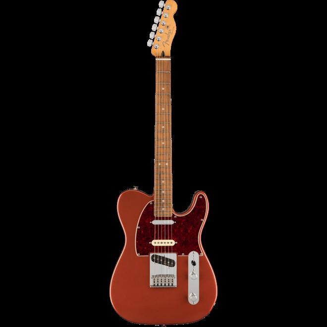 Fender - Player Plus Nashville Telecaster, Pau Ferro Fingerboard, Aged Candy Apple Red