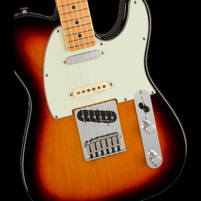 Fender - Player Plus Nashville Telecaster, Maple Fingerboard, 3-Color Sunburst