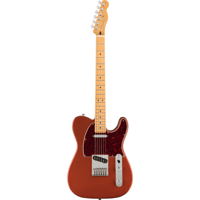 Fender -  Player Plus Telecaster, Maple Fingerboard, Aged Candy Apple Red