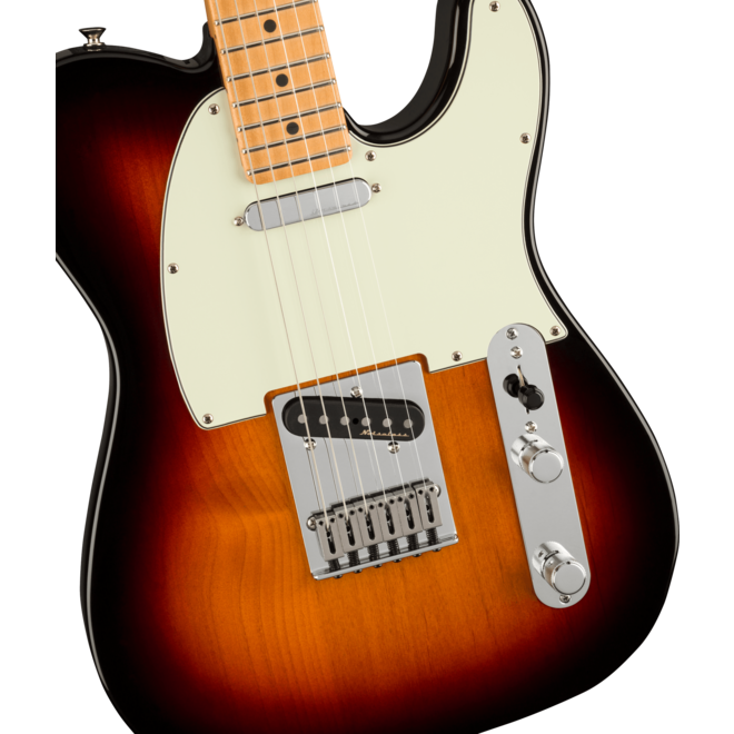 Fender -  Player Plus Telecaster, Maple Fingerboard, 3-Color Sunburst