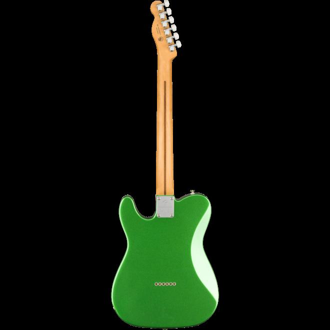 Fender -  Player Plus Telecaster, Maple Fingerboard, Cosmic Jade