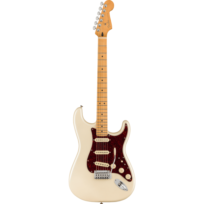 Fender - Player Plus Stratocaster, Maple Fingerboard, Olympic Pearl