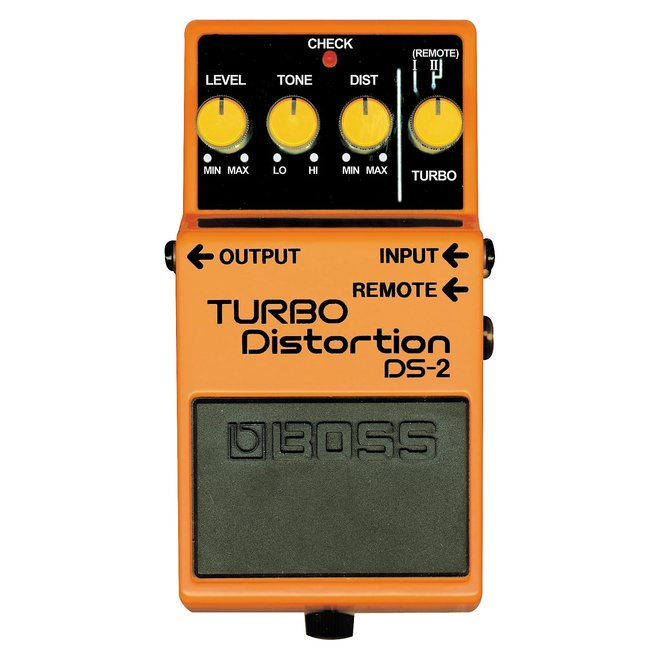 Boss - DS-2 Turbo Distortion Pedal