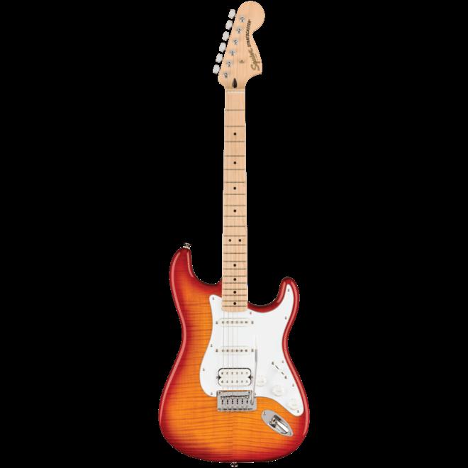 Squier Affinity Series Stratocaster FMT HSS, Maple Fingerboard, Sienna Sunburst