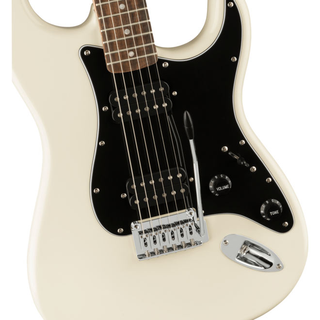 Squier Affinity Series Stratocaster HH, Laurel Fingerboard, Olympic White