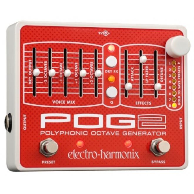 Electro-Harmonix - Pog 2 Polyphonic Octave Generator Pedal