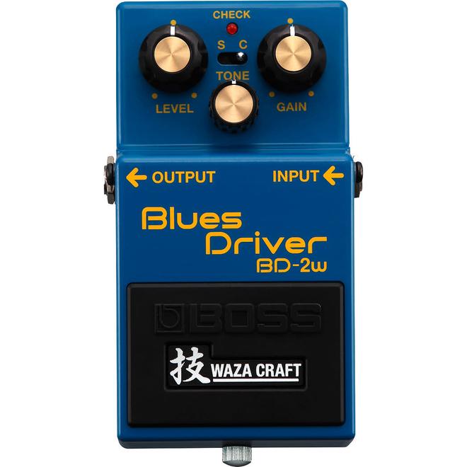 Boss - BD-2W Waza Craft Custom Blues Driver Pedal