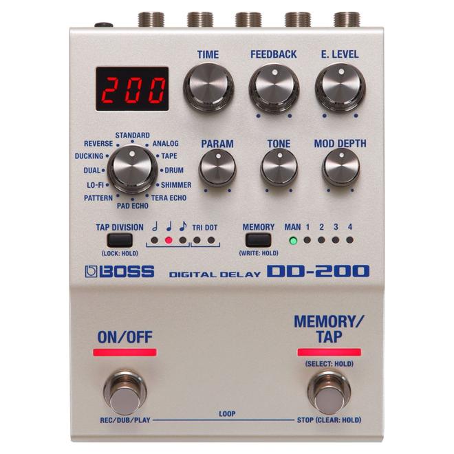 Boss - DD-200 Digital Delay Pedal