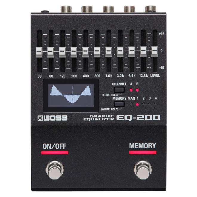 Boss - EQ-200 Graphic Equalizer Pedal