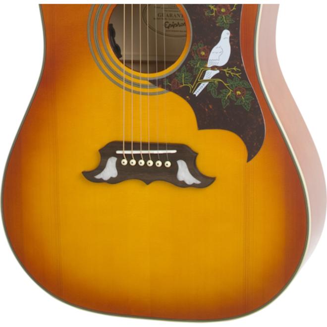 Epiphone - Dove Studio Acoustic, Violin Burst