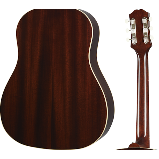 Epiphone - Inspired by Gibson Masterbilt J-45, Aged Vintage Sunburst