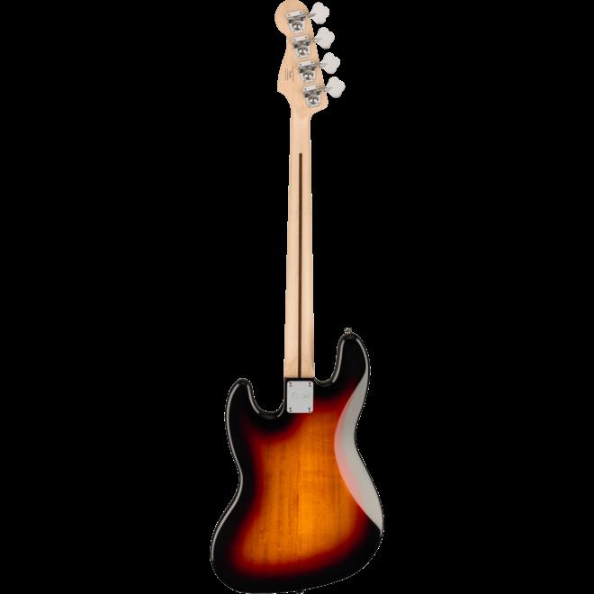 Squier Affinity Series Jazz Bass, Maple Fingerboard, 3-Color Sunburst