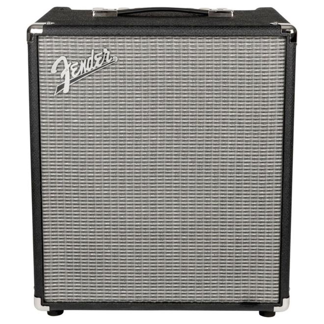 Fender - Rumble 100 100watt Bass Combo Amplifier, Black/Silver