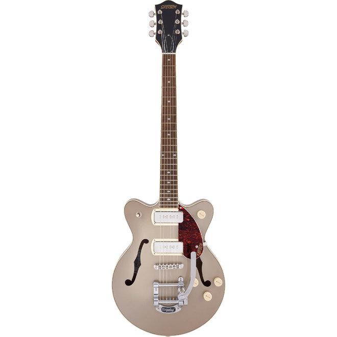 Gretsch - G2655T-P90 Streamliner Jr. Double-Cut P90 Electric Guitar, Two-Tone Sahara Metallic
