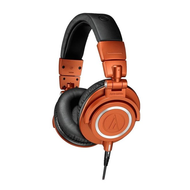 Audio-Technica - ATH-M50X Studio Headphones, Limited Edition Lantern Glow
